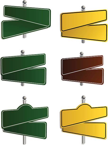 ilustraciones, imágenes clip art, dibujos animados e iconos de stock de vector- street señales - señalización vial