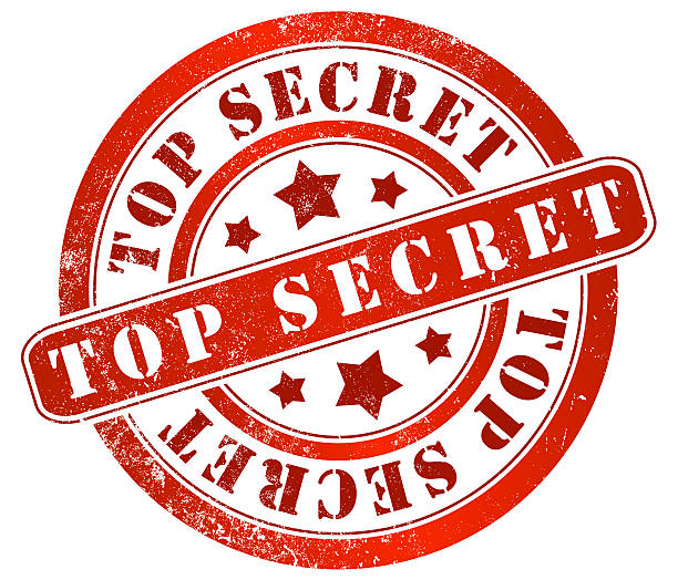 Top Secret Stamp Transparent