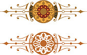 Vectorized Victorian Style Accents