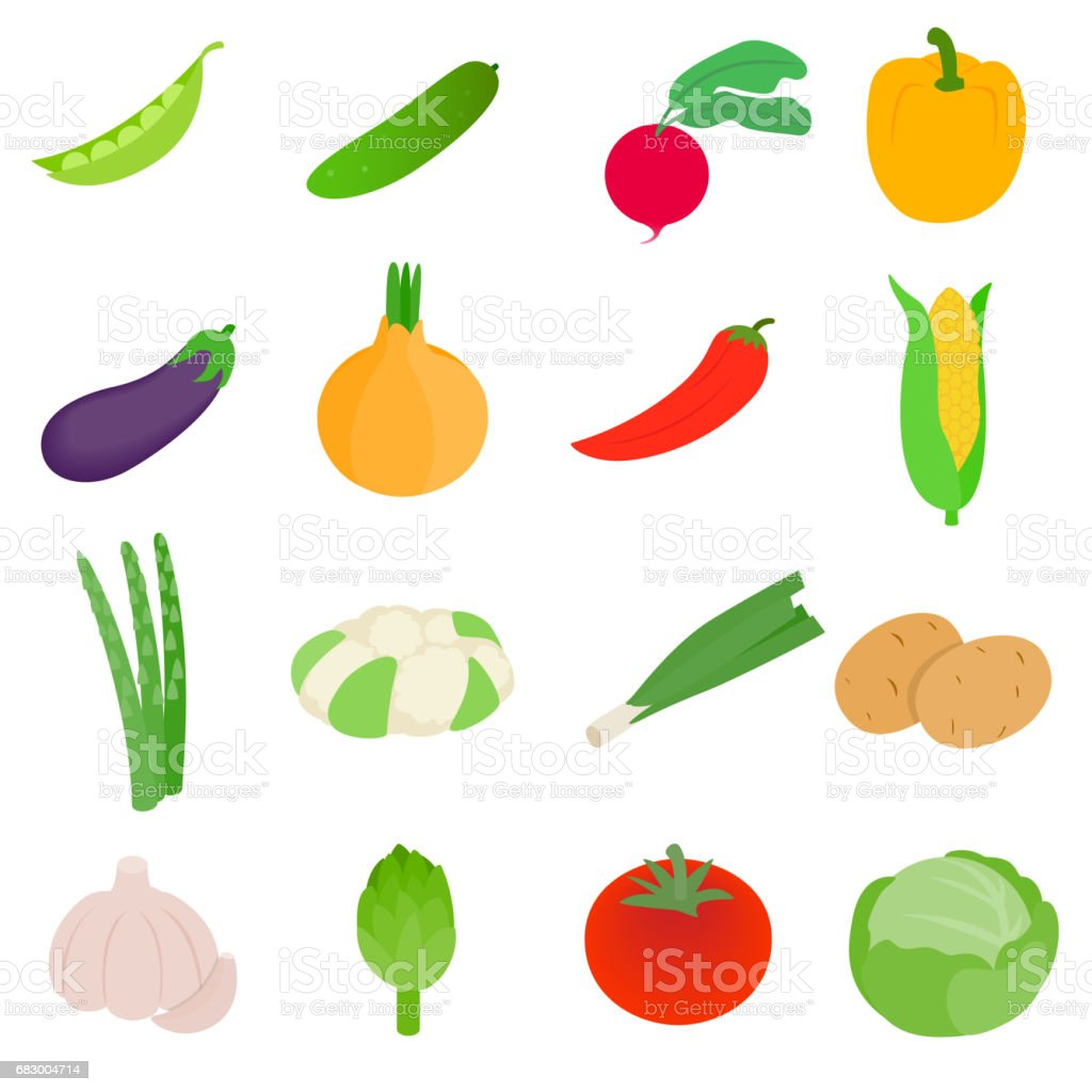 Vegetables icons set, isometric 3d style royalty-free vegetables icons set isometric 3d style stock vector art & more images of computer graphic