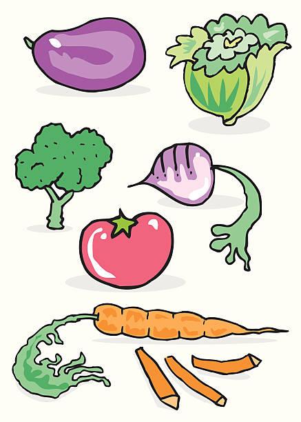vegetables vektorkonstillustration