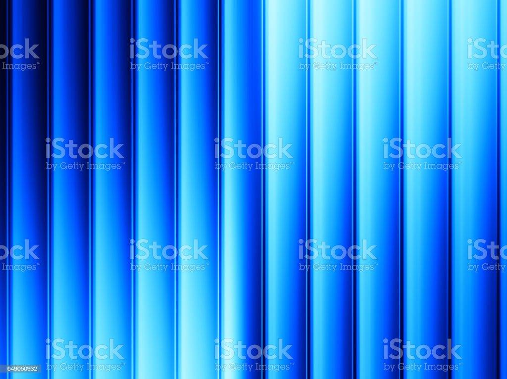 Vertical blue panels illustration background vector art illustration