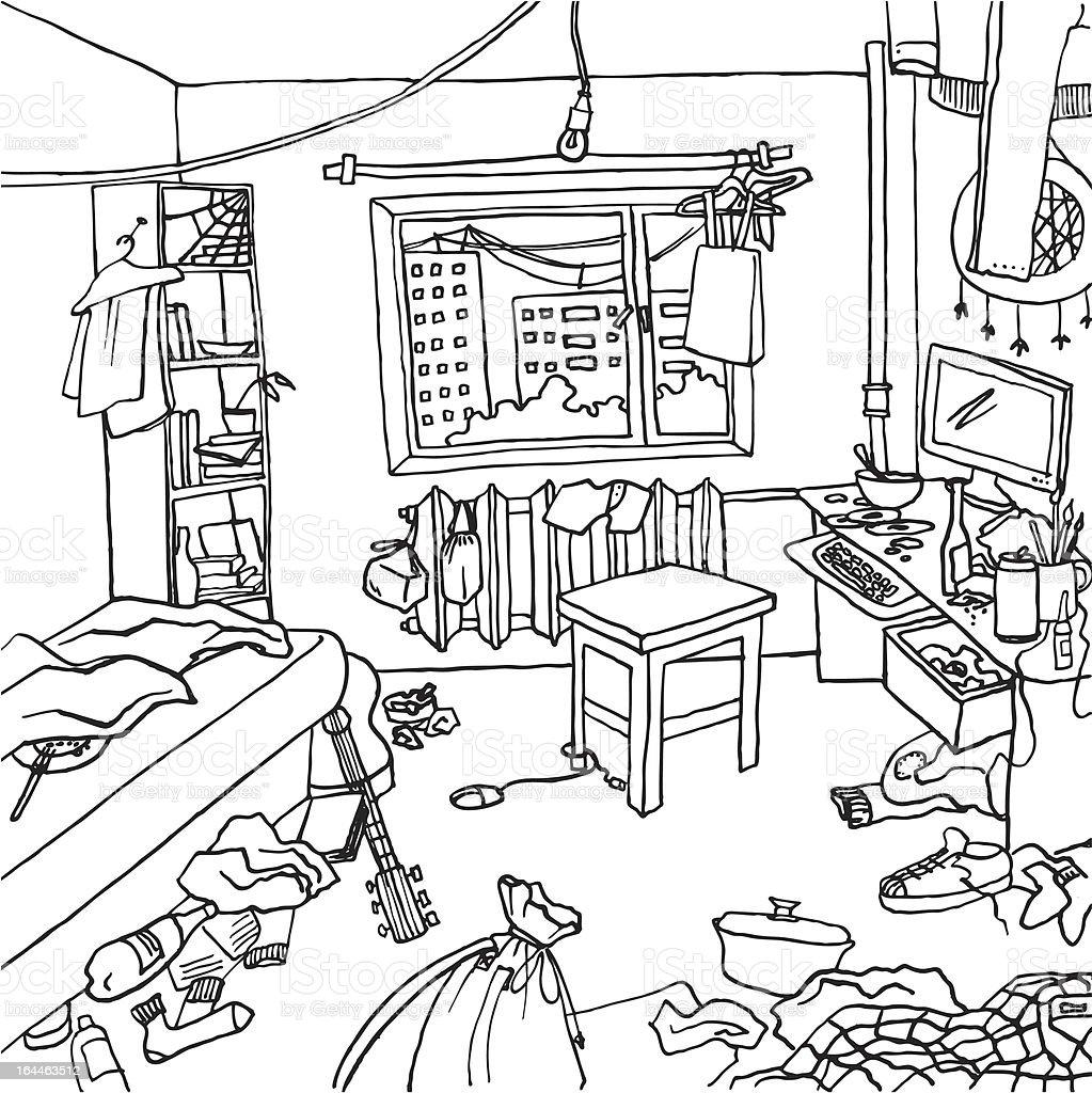 top 60 tidy bedroom clip art  vector graphics and illustrations