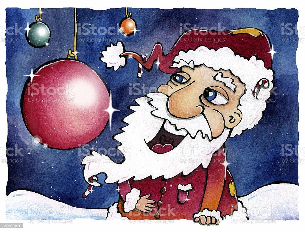Very Jolly Santa Xmas Card royalty-free very jolly santa xmas card stok vektör sanatı & aşk'nin daha fazla görseli