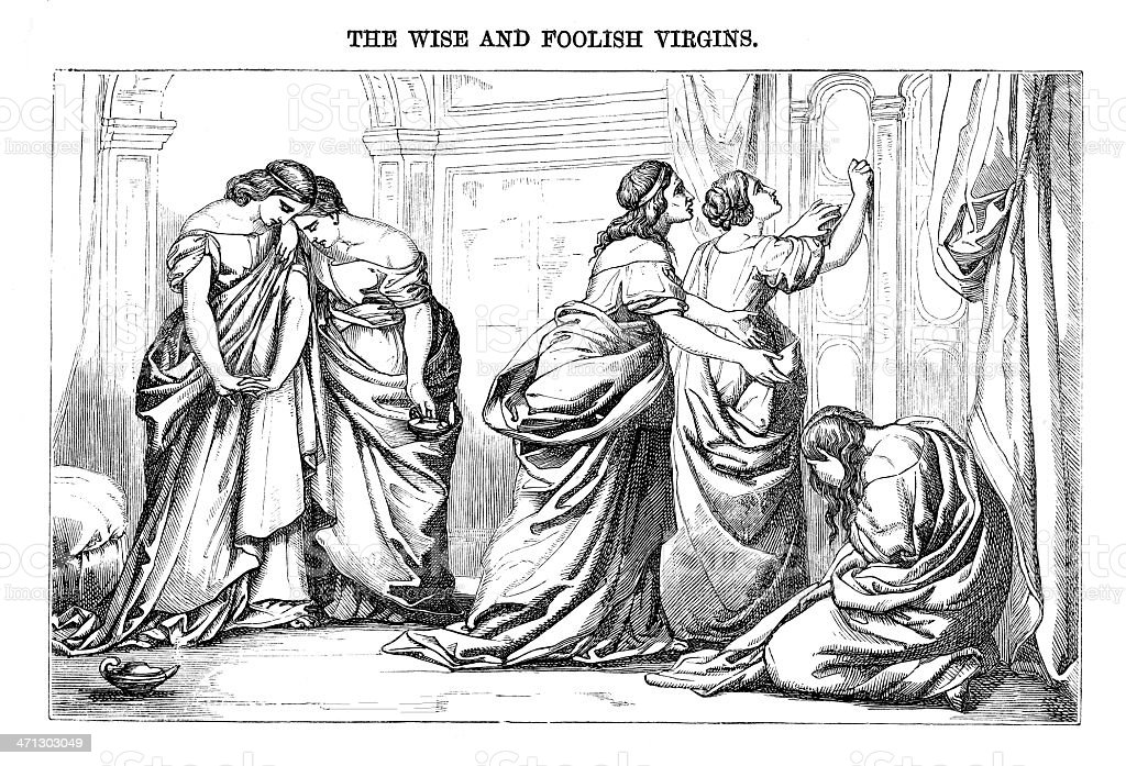 Engraved illustration from \'The Sunday at Home \' July 23rd 1864