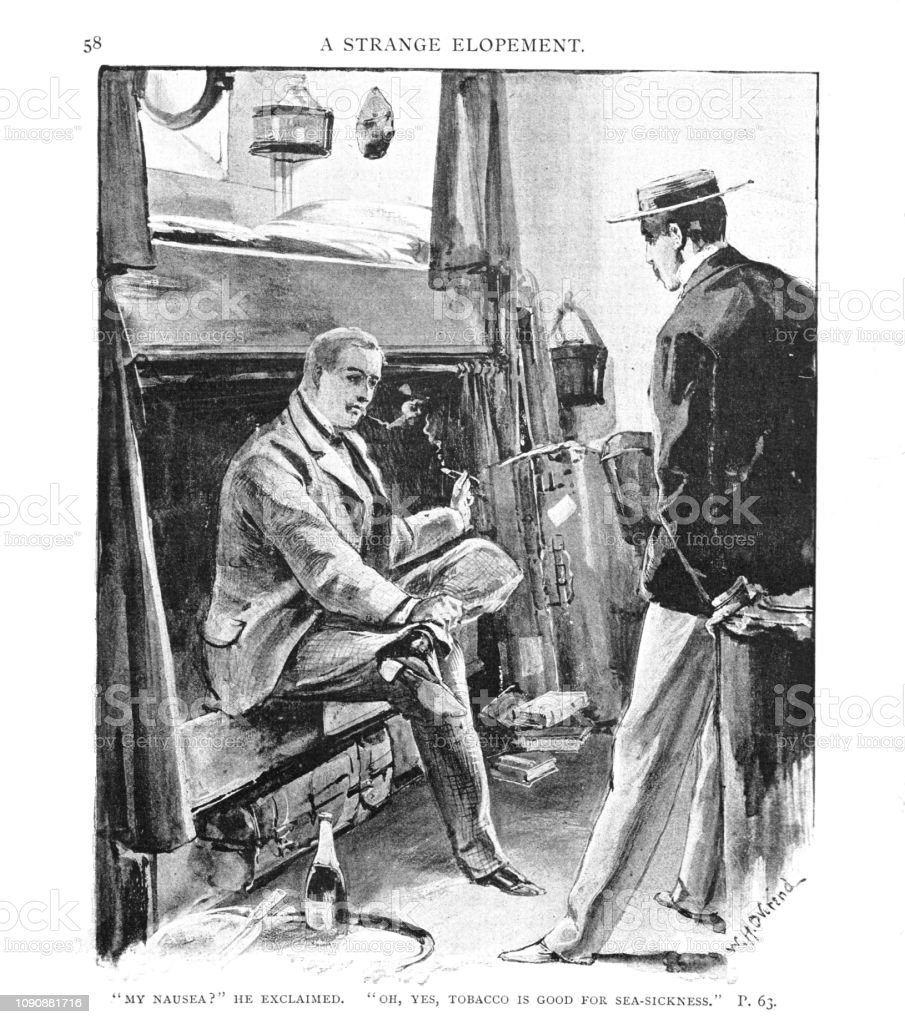 Taken from the the English Illustrated Magazine 1892