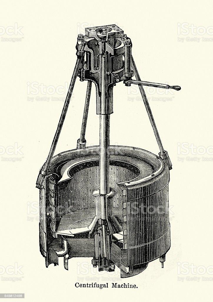 Victorian Centrifuge vector art illustration