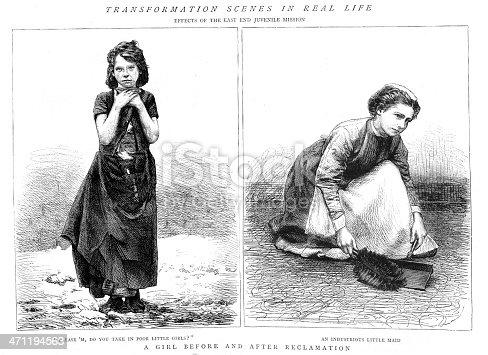 istock Victorian Child poverty 471194563