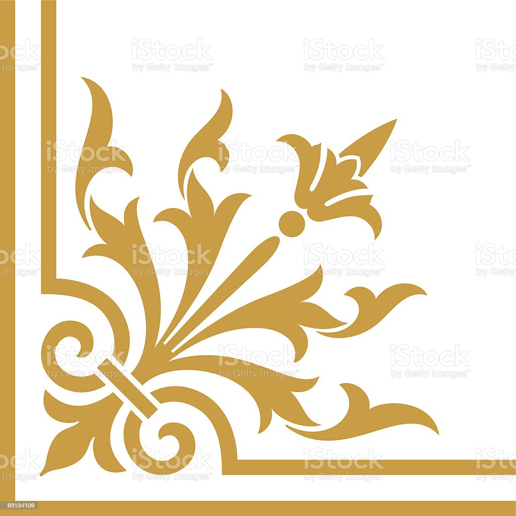 Victorian Corner6-8-12-04 royalty-free victorian corner681204 stock vector art & more images of angle