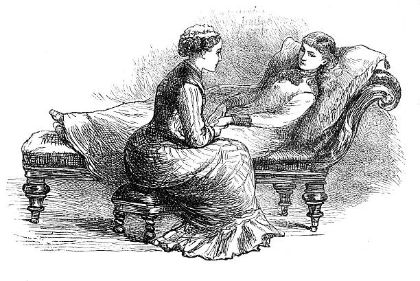 Victorian Engraving Woman Reclining On Chaise Longue From 1880 ... on victorian tables, victorian wheelchair, victorian loveseat, victorian sideboard, victorian urns, victorian rocking chair, victorian credenza, victorian folding chair, victorian office chair, victorian couch, victorian nursing chair, victorian club chair, victorian chest, victorian era chaise, victorian candles, victorian recliner, victorian chaise furniture, victorian chaise lounge, victorian mother's day, victorian country,