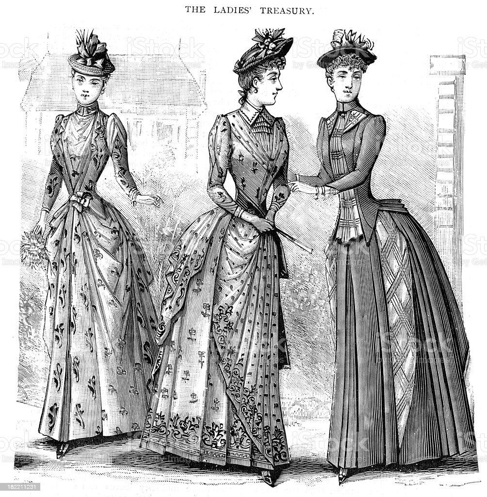 19th century fashion women 94