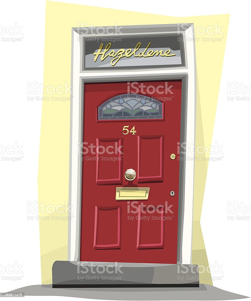 royalty free front door clip art vector images illustrations istock rh istockphoto com front door clipart free free front door clipart
