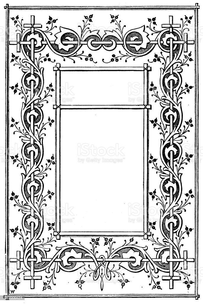 Ilustración de Victoriano Ilustra El Estilo De Página B Con Cuadros ...