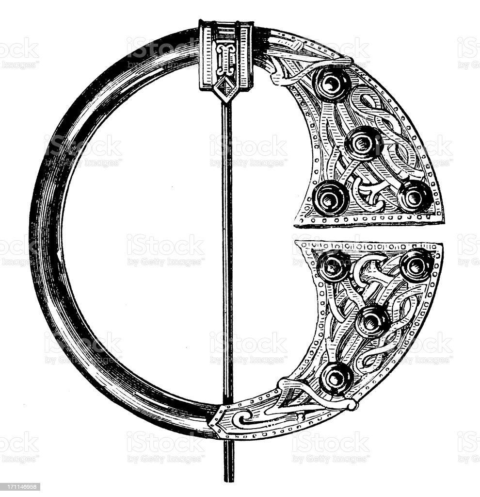 Victorian Jewellery | Antique Design Illustrations royalty-free stock vector art