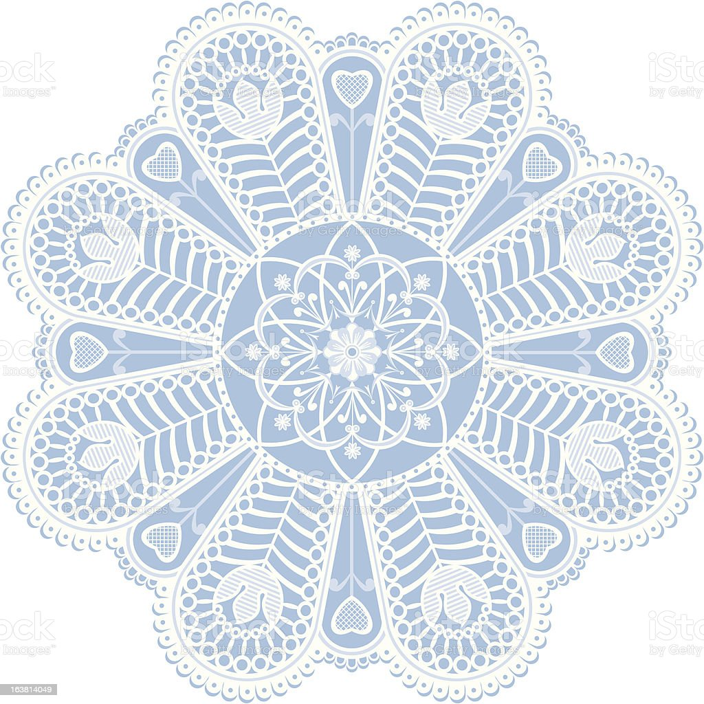 Victorian lace royalty-free stock vector art