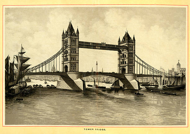 Royalty free tower bridge clip art vector images for Design agency london bridge