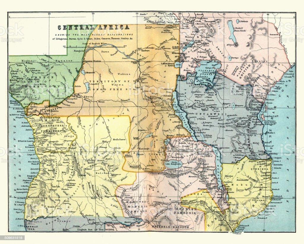 Lake Tanganyika On A Map Of Africa.Royalty Free Lake Tanganyika Clip Art Vector Images Illustrations