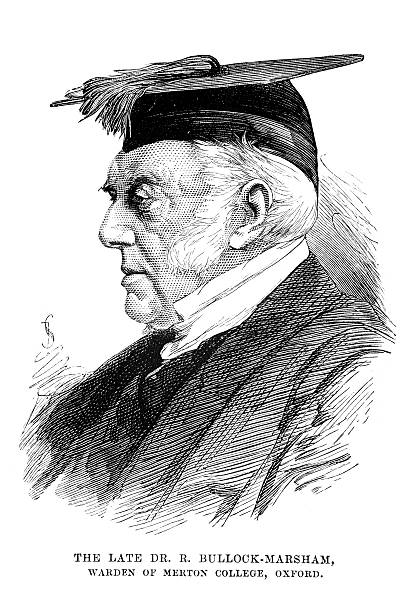 victorian professor - old man hats pictures stock illustrations, clip art, cartoons, & icons