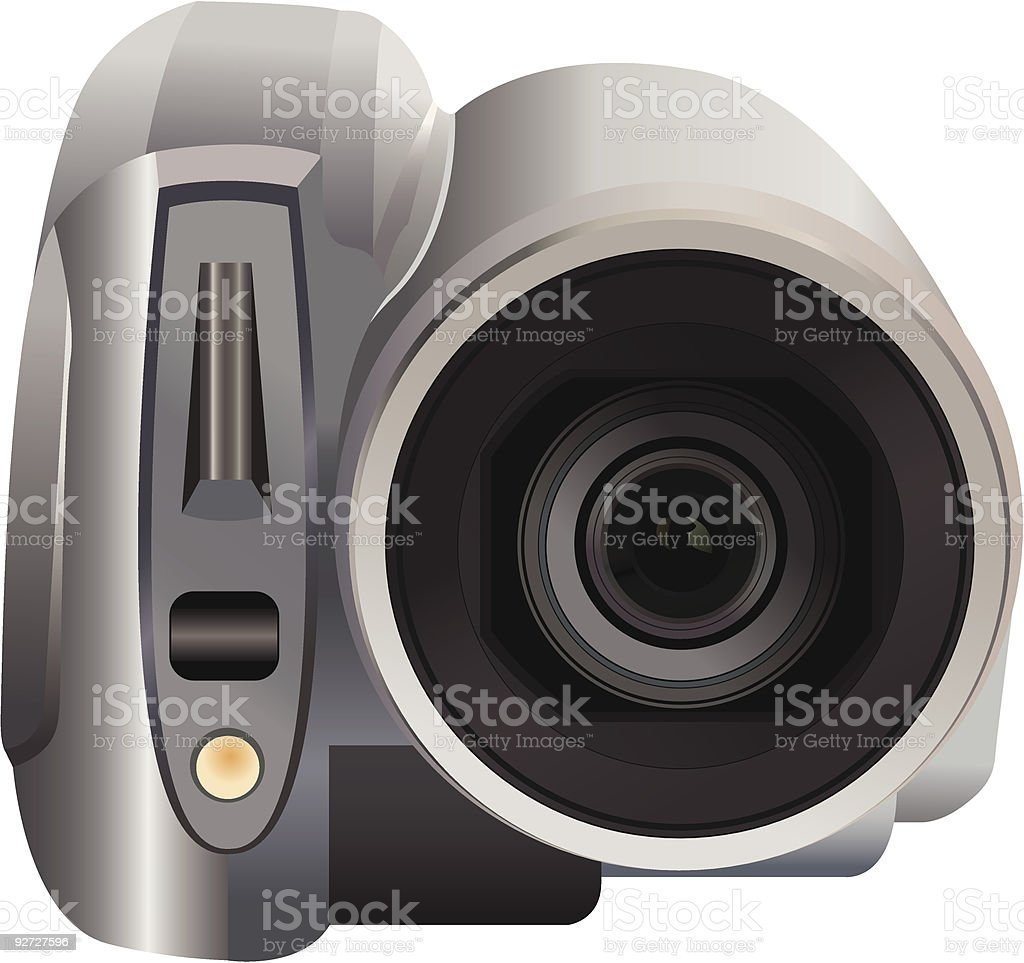 video camera royalty-free stock vector art