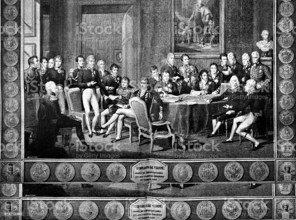 Vienna Congress - 1896 - Illustrazione stock royalty-free di 2018