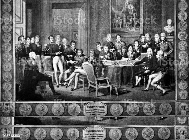 Vienna Congress 1896 - Immagini vettoriali stock e altre immagini di 2018