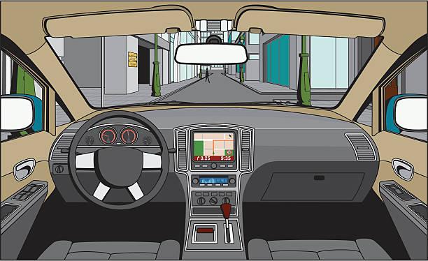Car Interior Illustrations, Royalty-Free Vector Graphics & Clip Art - iStock