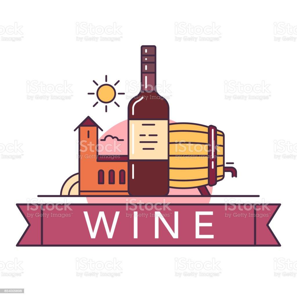 Vine_icon vector art illustration