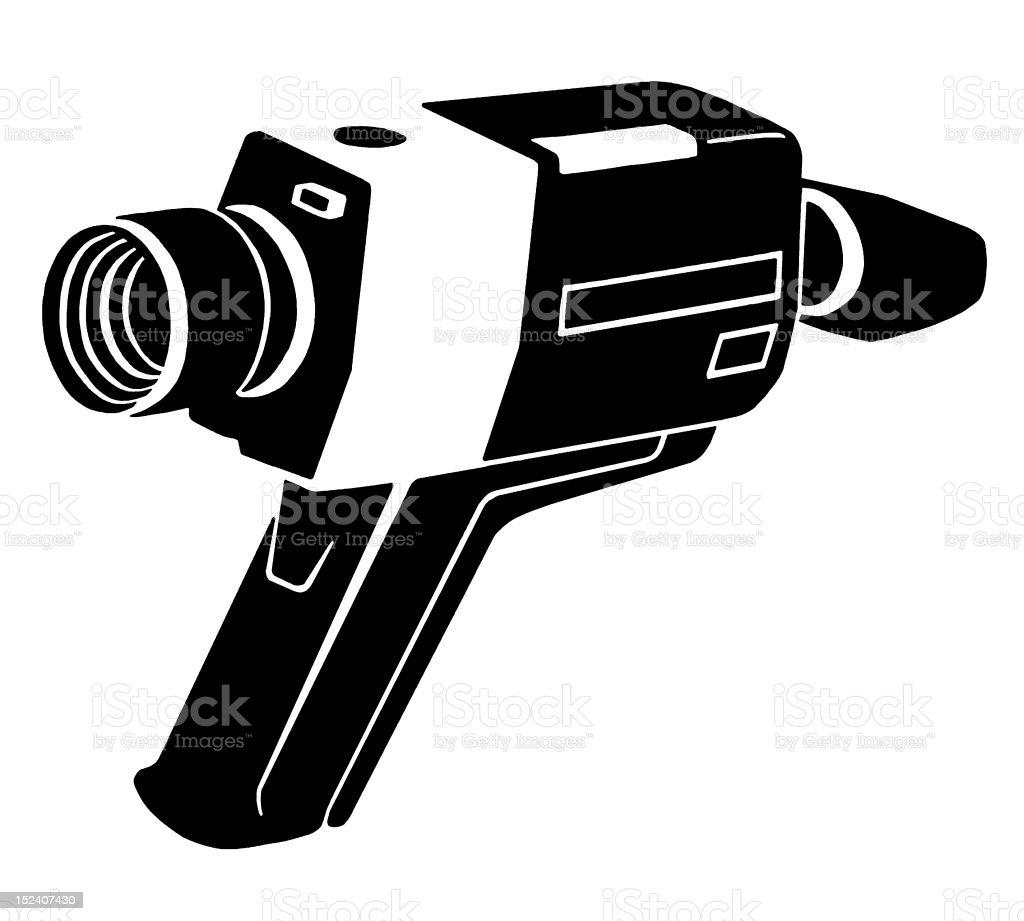 8Mm Vintage Camera vintage 8mm video camera stock illustration - download image