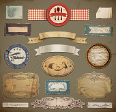 Vintage And Retro Design Elements.