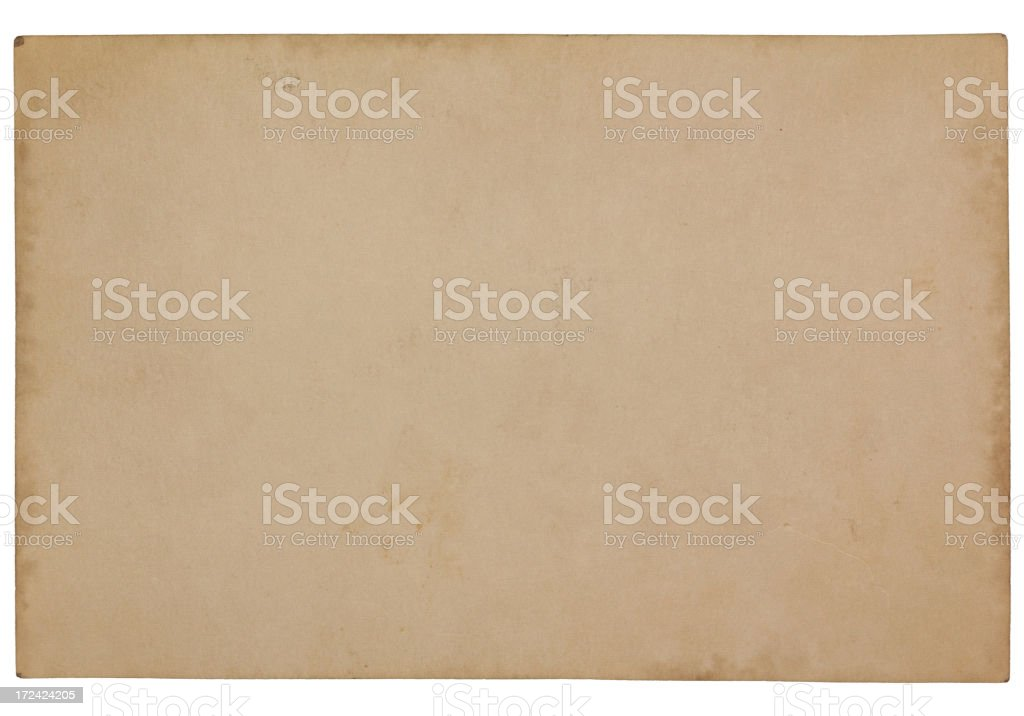 Vintage Blank Damaged Old Card Paper Texture vector art illustration