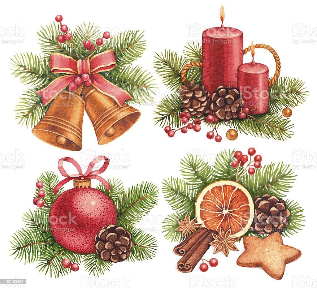 Immagini Vintage Natale.Vintage Natale Illustrazioni Immagini Vettoriali Stock E Altre Immagini Di Albero Istock
