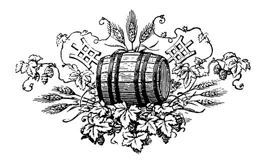 Vintage Clip Art and Illustrations | Beer Label