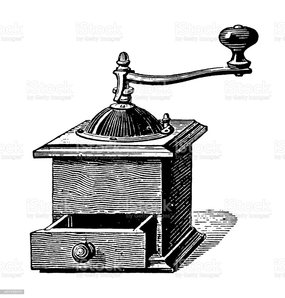 Vintage Clip Art and Illustrations | Coffee Grinder royalty-free vintage clip art and illustrations coffee grinder stock vector art & more images of 19th century