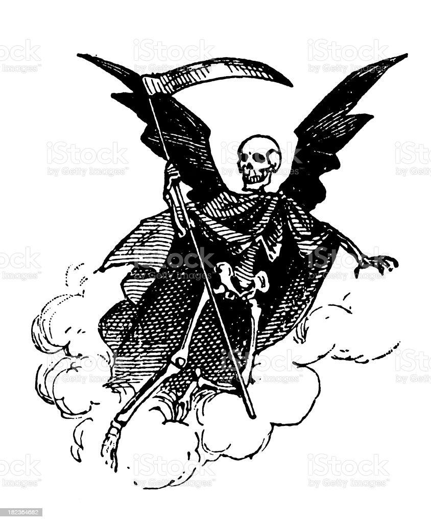 Art Illustration: Vintage Clip Art And Illustrations Death Stock Vector Art