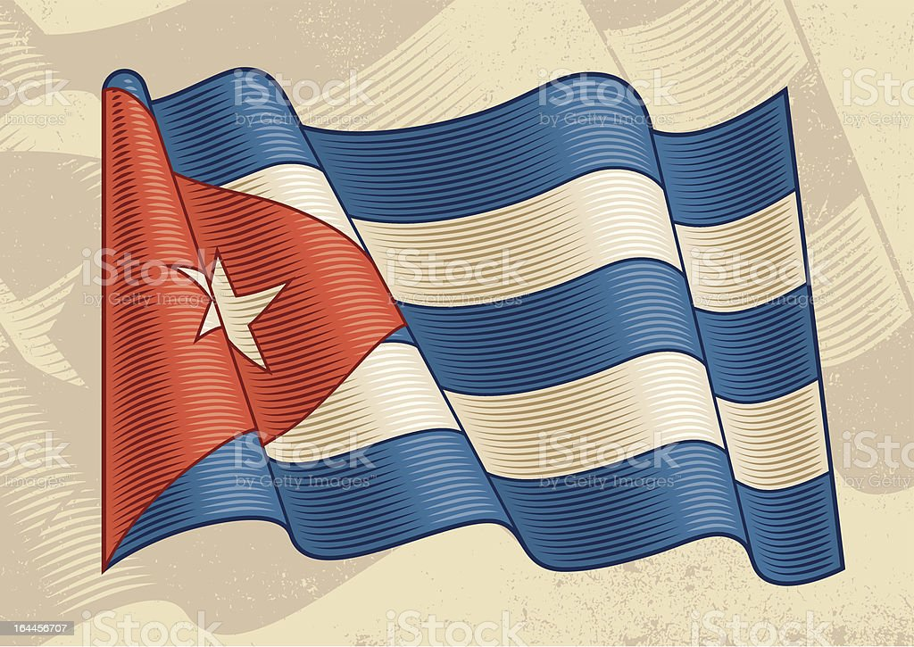 Vintage Cuban Flag royalty-free vintage cuban flag stock vector art & more images of adventure
