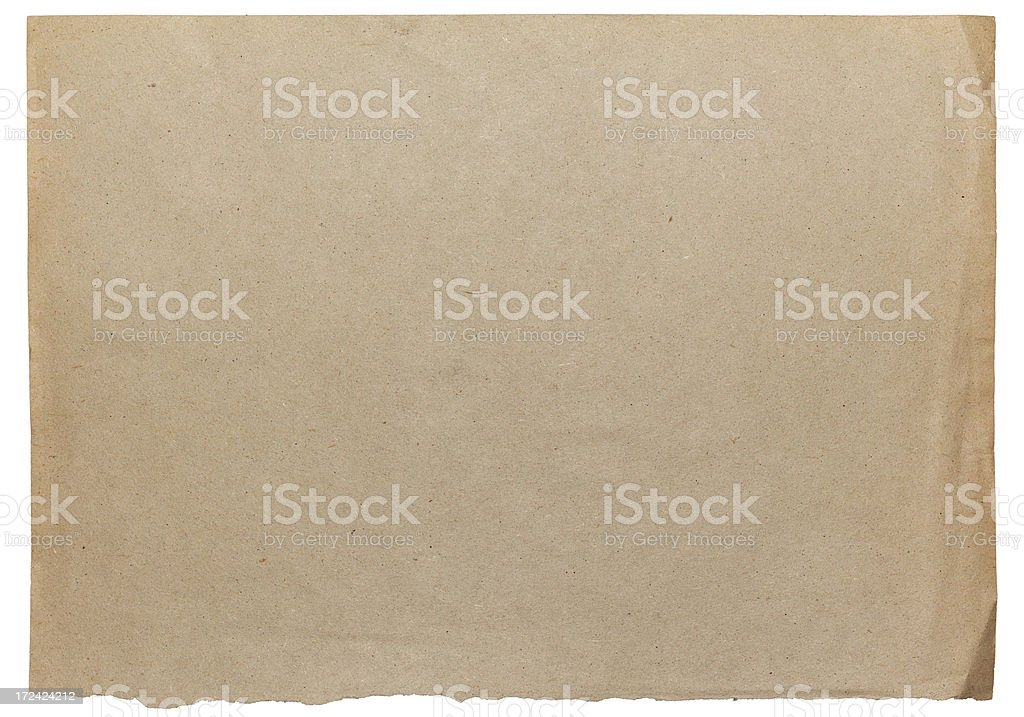 Vintage Damaged Old Blank Card Paper Texture vector art illustration