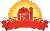 vintage farm badge