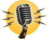 istock vintage halftone microphone 165942883