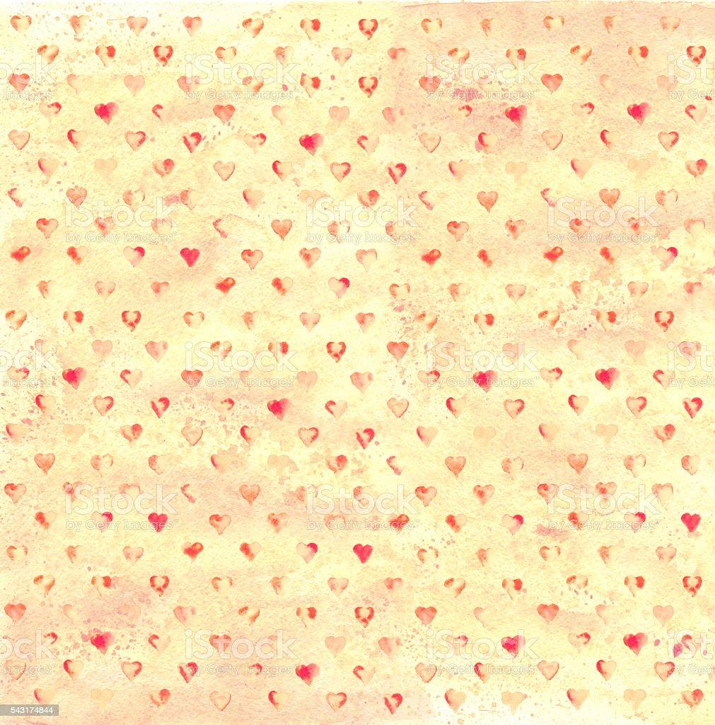 Vintage Heart Background Vintage Hearts ...