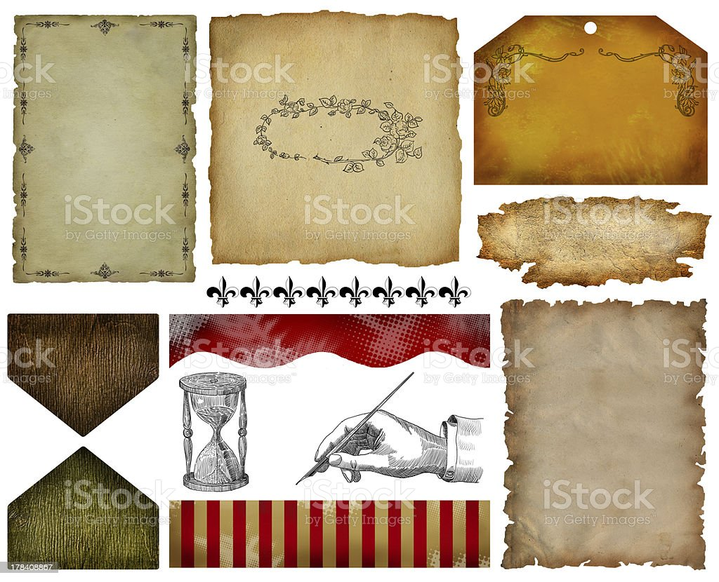 Vintage label set royalty-free vintage label set stock vector art & more images of antique
