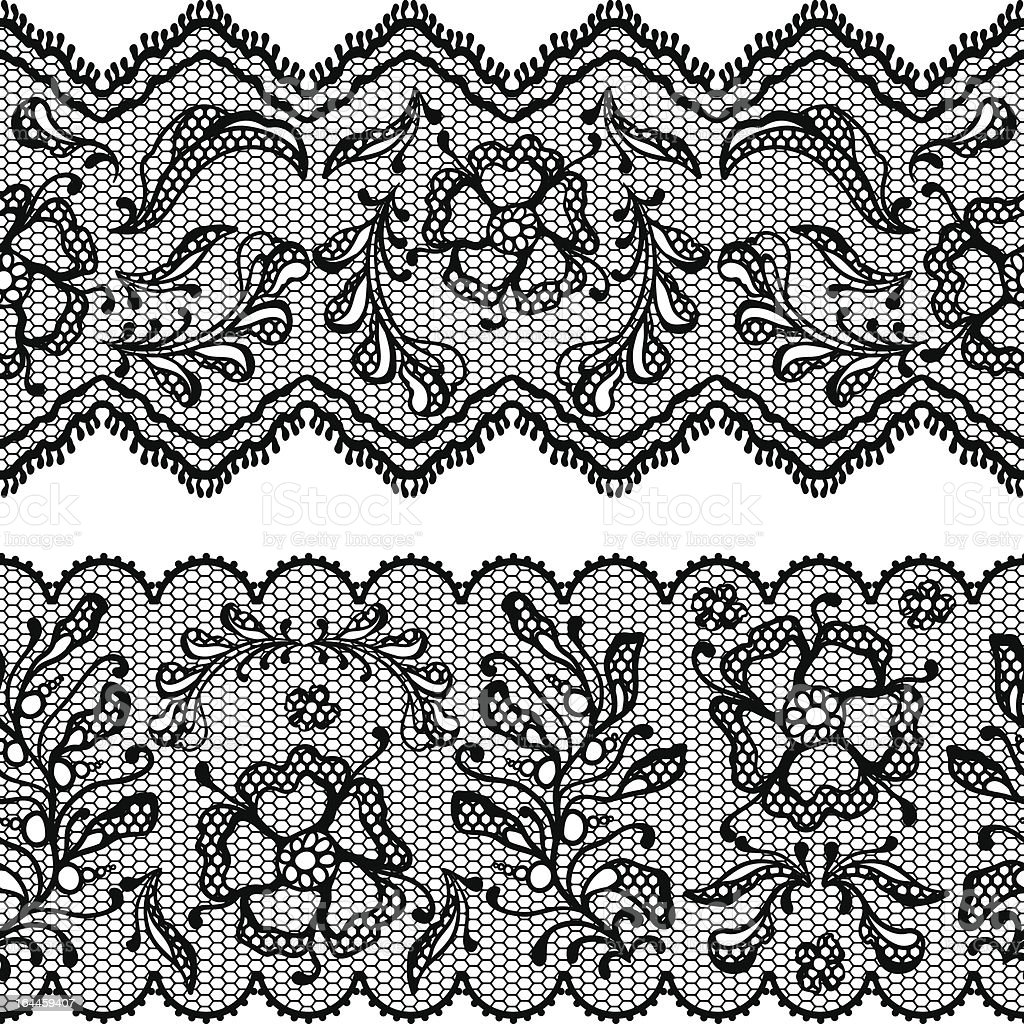 Vintage lace background, ornamental flowers. Vector texture. royalty-free vintage lace background ornamental flowers vector texture stock vector art & more images of abstract