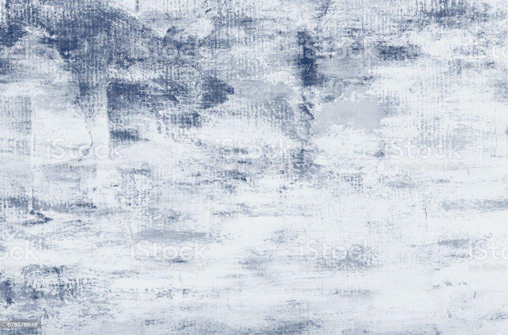 Vintage light blue abstract pastel color oil paint background. Palette knife oil painting. vector art illustration