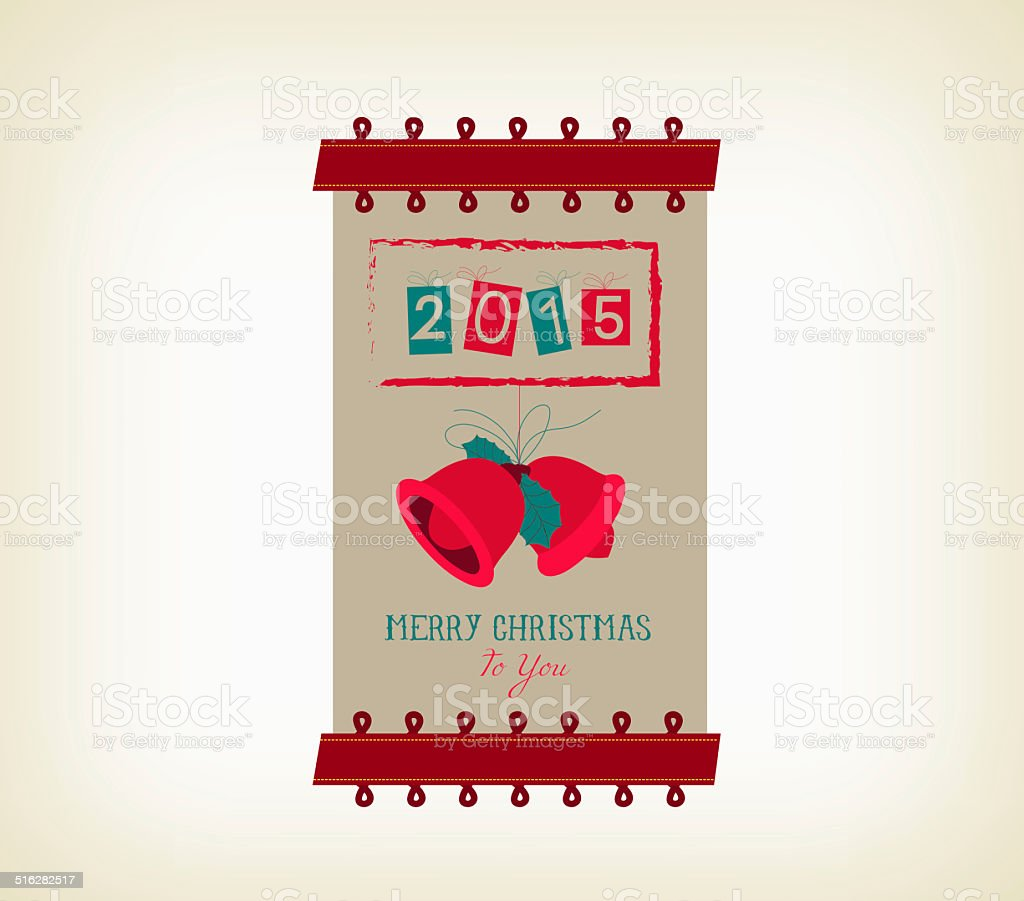 vintage merry christmas and happy new year banner royalty free vintage merry christmas and happy