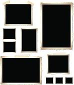 Vintage Photo Frames (vector)
