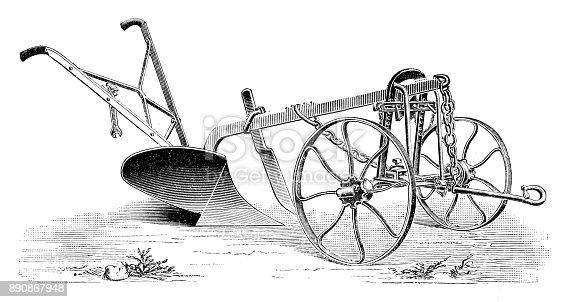 """illustration was published in 1900 """"Buch der erfindungen"""