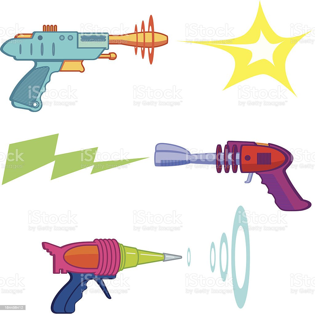 Vintage Raygun royalty-free vintage raygun stock vector art & more images of 1950-1959