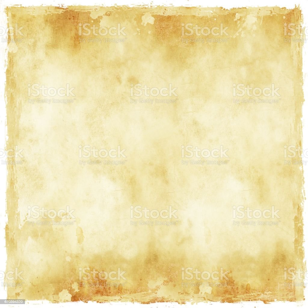 vintage sepia paper texture background with worn borders royalty free vintage sepia paper texture