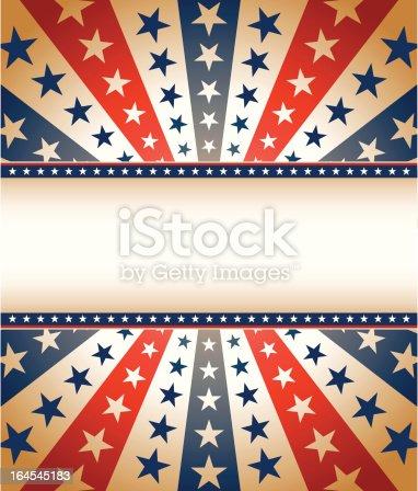 Vintage Star Spangled Banner Stock Vector Art & More ... Vintage Americana Graphics