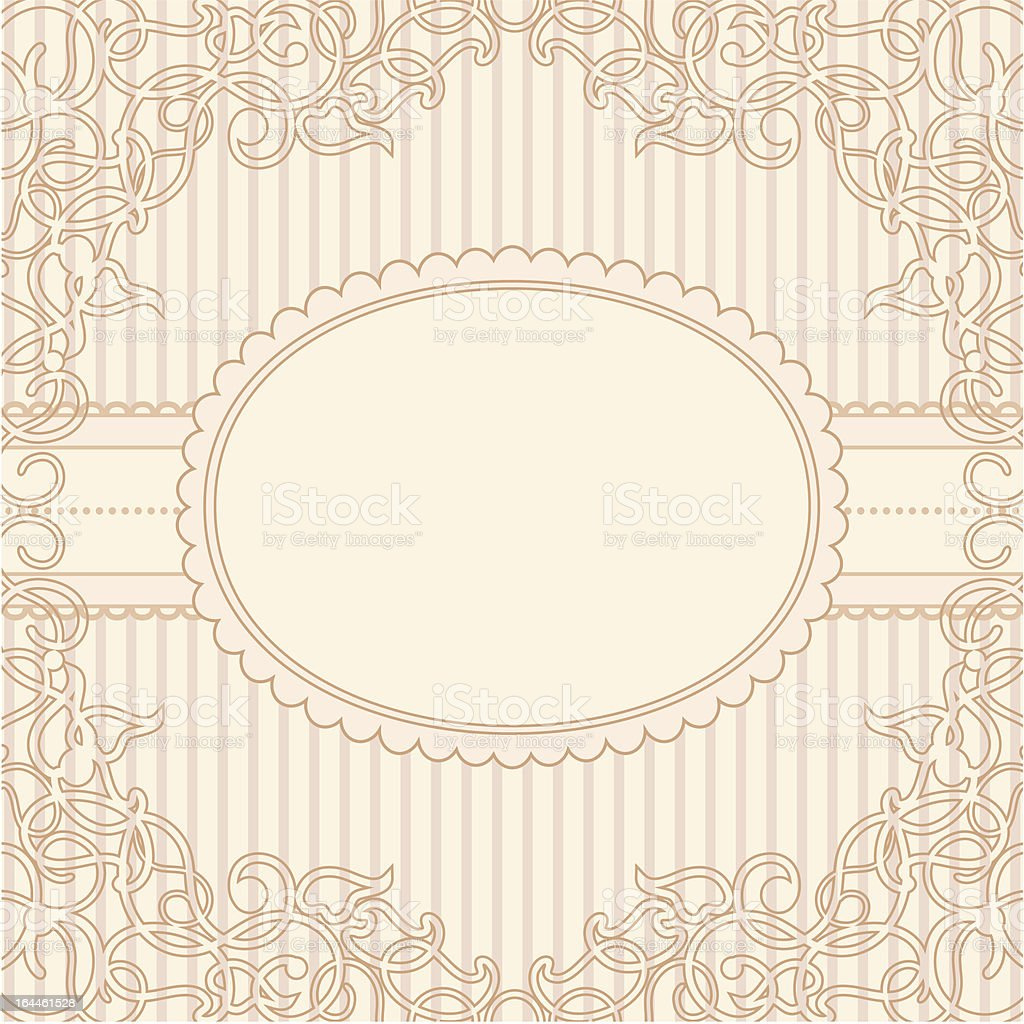 vintage-frame royalty-free stock vector art