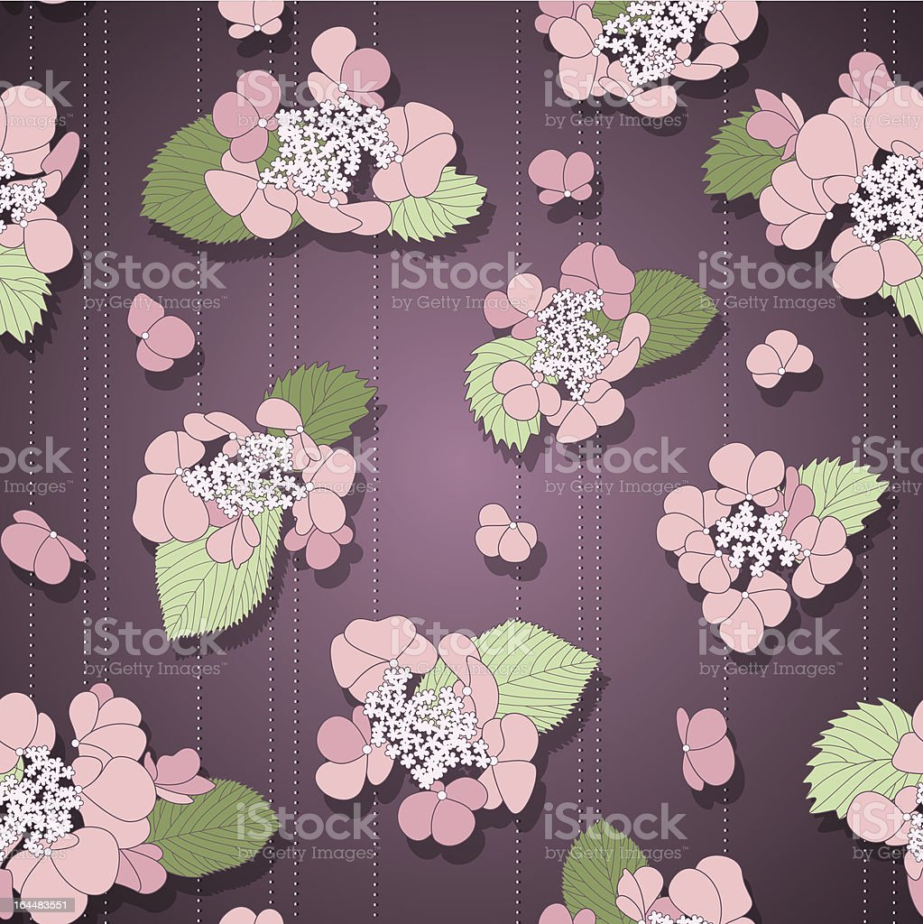 Violet floral seamless pattern royalty-free violet floral seamless pattern stock vector art & more images of abstract